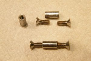 screw sizes for knife assembly
