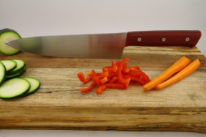 Alder_chefs_knife__red_g10_hand_finished